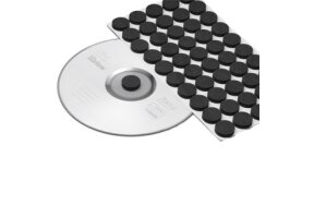 CD FOAM DOTS BLACK